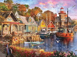 Dominic Davison 'Harbor Evening'