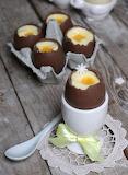 Easter egg dessert