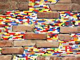 Lego wall repair, Jan Vormann