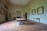 Empty frames Castle Moulbaix Belgium