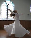 Sufi turns dance