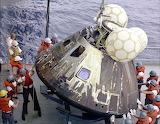 Apollo 13 capsule recovery
