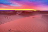 Sahara Desert Sunrise, Merzouga, Morocco