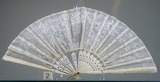 Elgin Museum: Victoria lace fan
