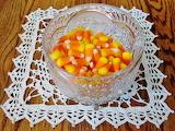 Fall = candy corn