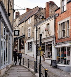 Frome town Centre England UK Britain