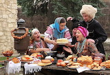 Russian family meal