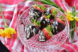 it's for me!-strawberries in chocolate