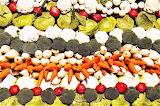 #Stacks of Fresh Vegetables