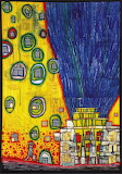 Friedensreich-Hundertwasser-Paintings-1991-water-fire