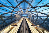 Elbbrücken subway station Germany