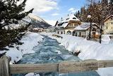 Winter in Sils-Maria, Engadin, Switzerland