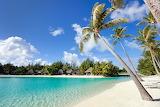 Tahiti paradise beach