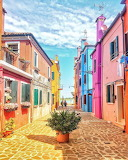 Burano, Veneto, Italy by @heylarina on Instagram