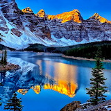 Lake Moraine, Canada...