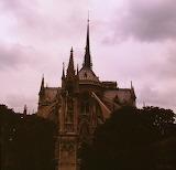 Europe - France - Paris - Notre Dame - back view2