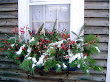 ^ Christmas Window Box Decoration
