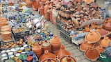 pottery market in Morocco