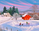 John Sloane-painting-winter