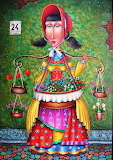 'Flower Girl' by Zurab Martiashvili