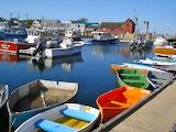 Boats in Rockport, Massachusetts, USA