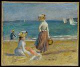 Renoir-figures on the beach