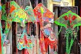 Vietnam, handicrafts, kites, shop, colorful