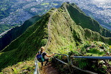 Stairs on Oahu Island of Hawaii