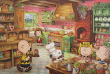 Peanuts Cooking Together