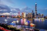 Busy river way - Shanghai