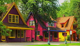 #Colorful Houses