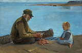 Venny Soldan-Brofeldt, «Isoisän opissa (Silakanperkuu)» 1902