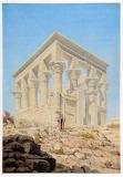 The Temple at Philae (Trajan's Kiosk) Egypt Richard Phene Spiers
