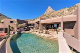 Luxury desert villa and pool