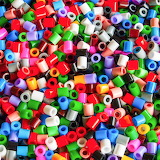 Bright and colorful beads!