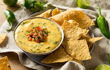 ^ Queso dip