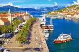 city by Adriatic Sea in Croatia