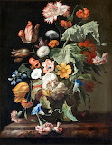 Still-Life with Flowers - Rachel Ruysch