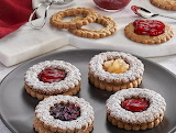 ^ Spiced Linzer Cookies
