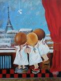 ^ Three Angels in Paris ~ Yaryna Bosak