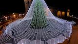Vilnius Christmas tree Lithuania