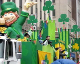 St Patrick's Day Parade-Montreal