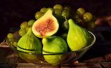 Frutera con higos