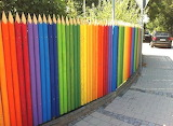 Rainbow Fences