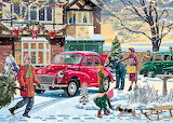 December Shopping by Vic McLindon....