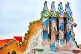 Gaudi Architecture in Barcelona, Spain