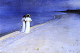 Summer Night, Skagen. Peder Severin Kroyer 1893