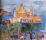 Casino of Nice by Raoul Dufy 1929