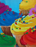#Colorful Cupcakes by KuroxKoneko on DeviantART