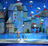 Santa Clauses are coming to town - Iwona Lifsches